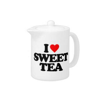 I LOVE SWEET TEA TEAPOT