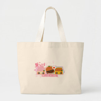 I love Sweets! Canvas Bags