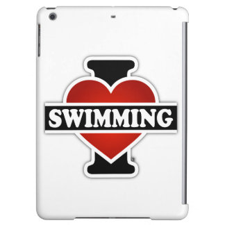 I Love Swimming Case For iPad Air