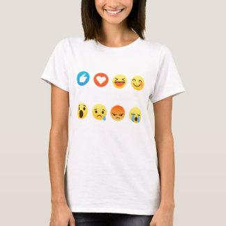 I Love Swimming Emoji Emoticon Graphic Tee Shirt