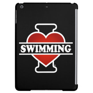 I Love Swimming iPad Air Cover