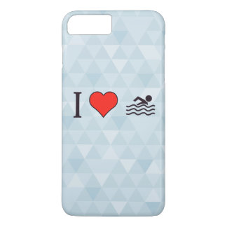 I Love Swimming iPhone 7 Plus Case