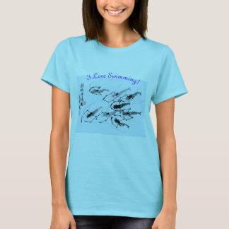 I Love Swimming T-Shirt