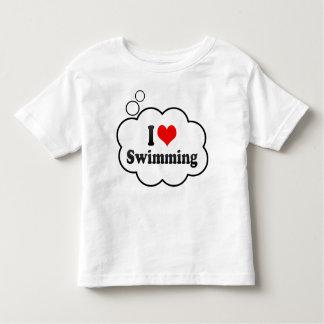 I love Swimming Toddler T-shirt