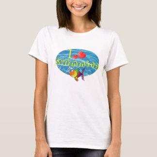 I Love Swimming Tshirt