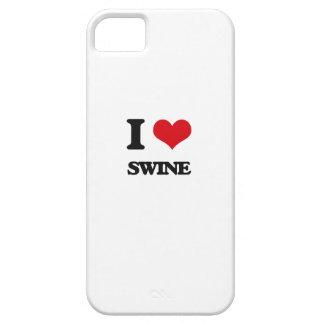 I love Swine iPhone 5 Cover