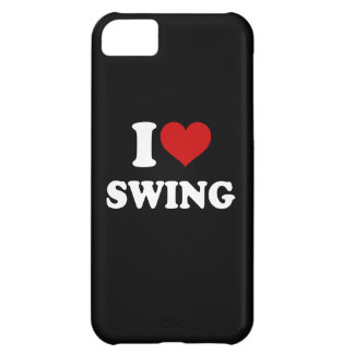 I Love Swing Cover For iPhone 5C