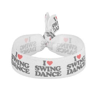 I LOVE SWING DANCE HAIR TIE