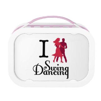 I Love Swing Dancing Yubo Lunch Box