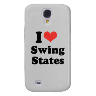 I LOVE SWING STATES - .png Samsung Galaxy S4 Cases