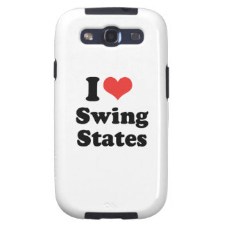 I LOVE SWING STATES - .png Samsung Galaxy S3 Case