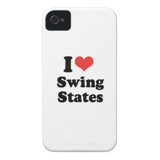 I LOVE SWING STATES - .png iPhone 4 Cover