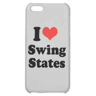 I LOVE SWING STATES - .png iPhone 5C Covers