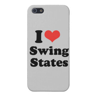 I LOVE SWING STATES - .png iPhone 5 Cover