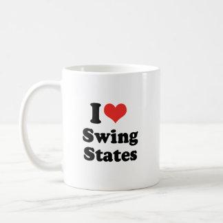 I LOVE SWING STATES - .png Mugs