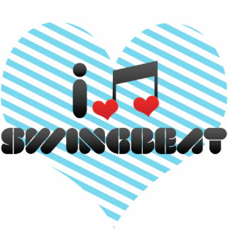 I Love Swingbeat Acrylic Cut Outs