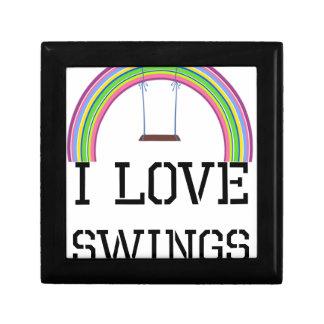 I Love Swings Jewelry Box