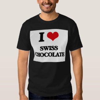 I love Swiss Chocolate T-shirts