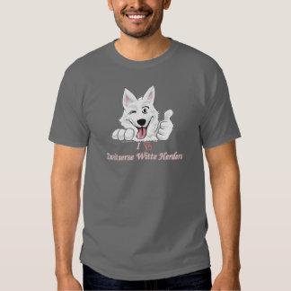I love Swiss white shepherds Tee Shirt