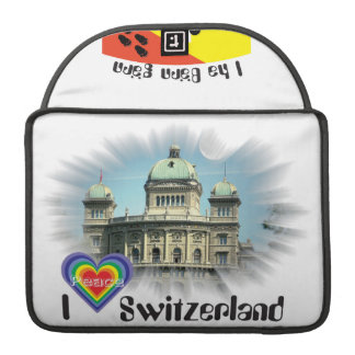 I love Switerland Rickshaw folding sleeve