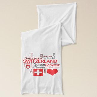 I Love Switzerland - Favorite Swiss Things Scarf