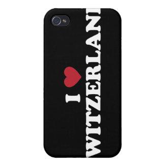I Love Switzerland iPhone 4 Case