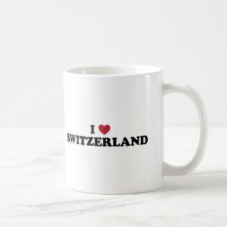 I Love Switzerland Classic White Coffee Mug