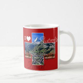 I love Switzerland Coffee Mugs