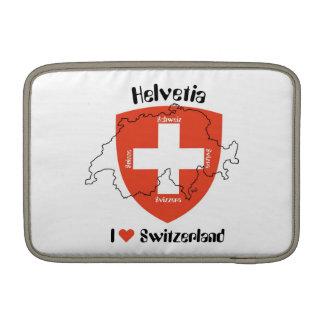 I love Switzerland Rickshaw sleeve