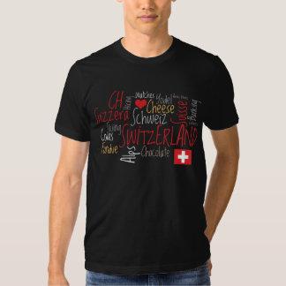 I Love Switzerland - Swiss Favorite Things T Shirts