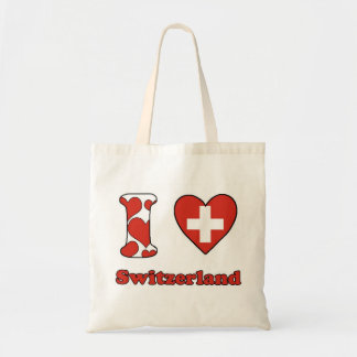 I love Switzerland Tote Bag