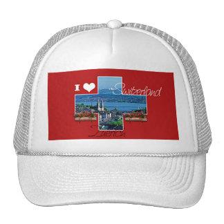 I love Switzerland Trucker Hats