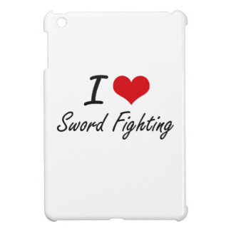 I love Sword Fighting Cover For The iPad Mini