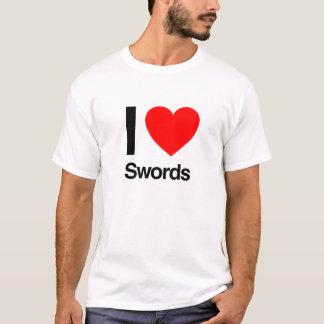 i love swords T-Shirt