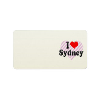 I love Sydney Labels
