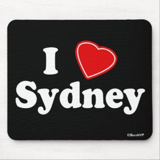 I Love Sydney Mouse Pad