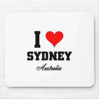 I love Sydney Mouse Pad