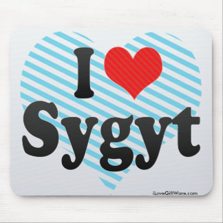 I Love Sygyt Mouse Pad