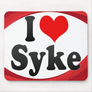 I Love Syke Germany Ich Liebe Syke Germany Mousepads