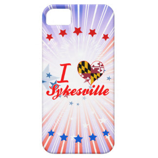 I Love Sykesville, Maryland iPhone 5 Cases