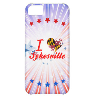 I Love Sykesville, Maryland iPhone 5C Covers