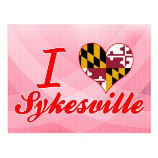 I Love Sykesville, Maryland Post Cards