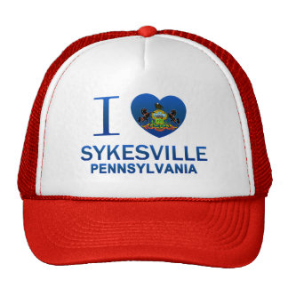 I Love Sykesville, PA Trucker Hat