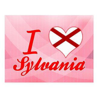 I Love Sylvania, Alabama Post Cards