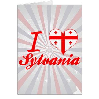 I Love Sylvania, Georgia Greeting Card
