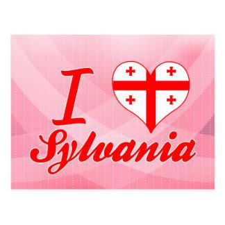 I Love Sylvania, Georgia Postcard