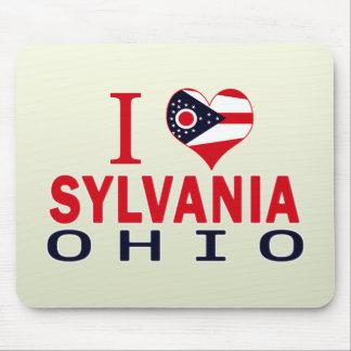 I love Sylvania, Ohio Mousepads