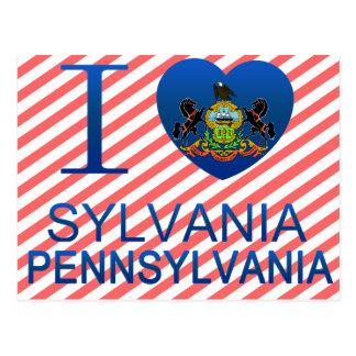 I Love Sylvania, PA Postcards