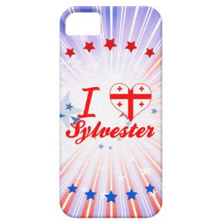 I Love Sylvester, Georgia iPhone 5 Cases