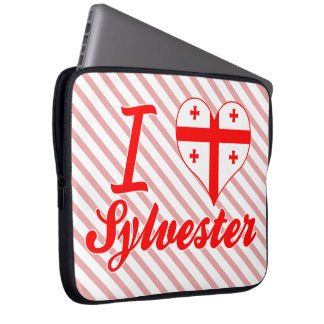 I Love Sylvester, Georgia Laptop Sleeves